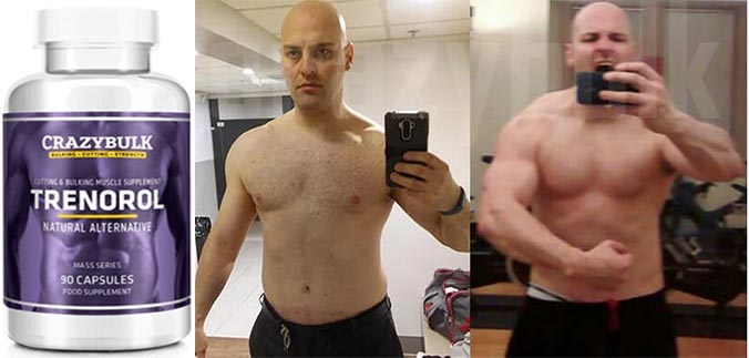 Trenabol before and after